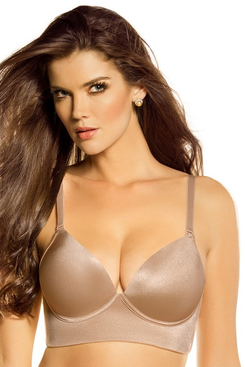 Leonisa Deep Plunge Wireless Push-Up Bra 011858 | Bras