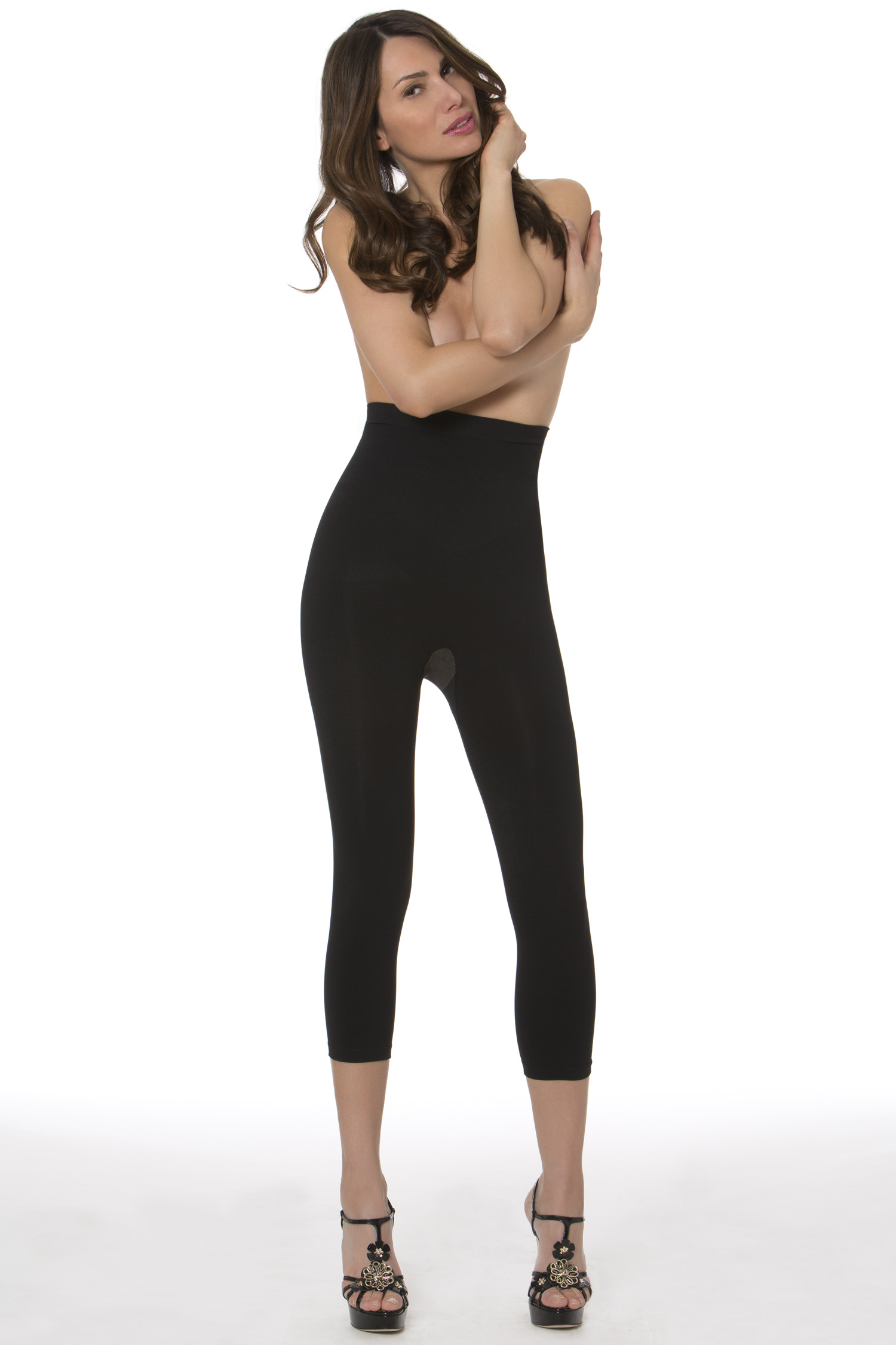 Lycra High Waisted Control and Thigh Slimmers Shapewear