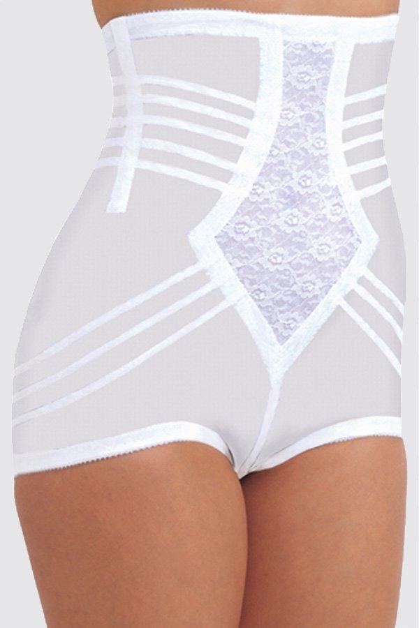 Rago High Waist Firm Shaping Panty Girdle White - S 6109